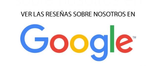 Opiniones de los clientes en Google